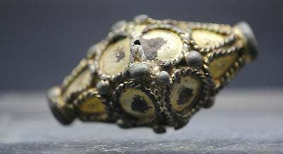 Viking Silver Gilt Bead 9Th-11Th Century Ad