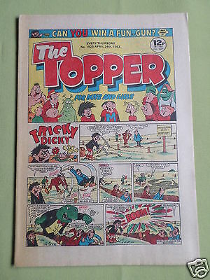 The Topper - Uk Comic - 24 April 1982  - # 1525 -Vg