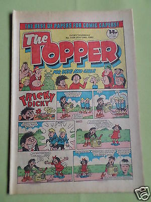 The Topper - Uk Comic - 24 July 1982 - # 1538 - Vg