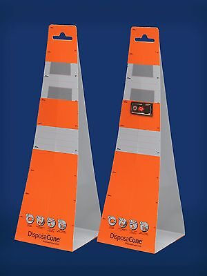 DisposaCone Temporary Traffic Cone 3-Pack - 1836R