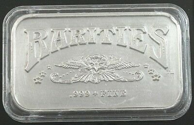1oz Rarities Silver Art Bar 1981