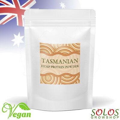 HEMP PROTEIN POWDER TASMANIAN GROWN ORGANIC PRODUCT OF AUSTRALIA 50g - 4kg