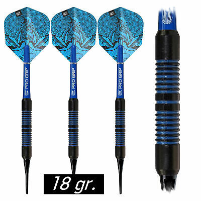 PROFIDART Soft Dart Set Darts Pfeile Dartpfeile Softdarts Hot Shot 18 gr PDDS172