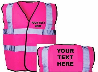 Horse Riding Hi Vis Vest Custom Printed