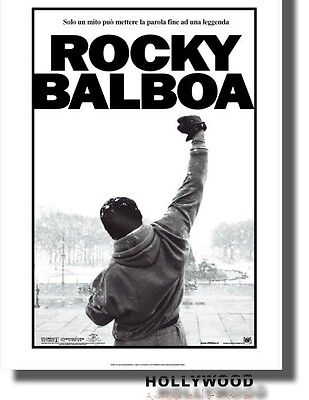 Rocky Balboa poster film CINEMA 100X140 Originale Italiano