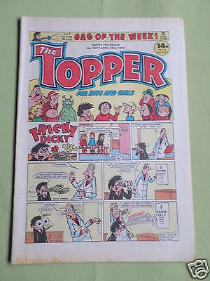 The Topper - Uk Comic - 23 April 1983  - # 1577- Vg
