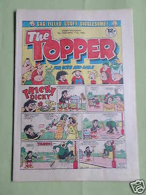The Topper - Uk Comic -17 April 1982  - #1524- Vg
