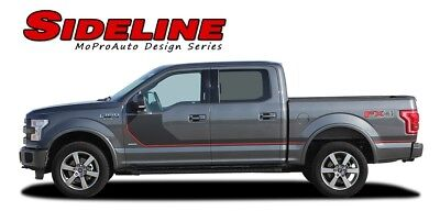 2015-2017 Ford F-150 SIDELINE Special Edition Side Stripes Vinyl Graphic Decals