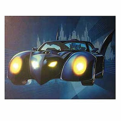 Batman Batmobile Light-Up Canvas Print