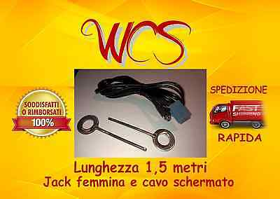 Kit Cavo aux Fiat Panda 2016  jack femmina a pannello (no source available)