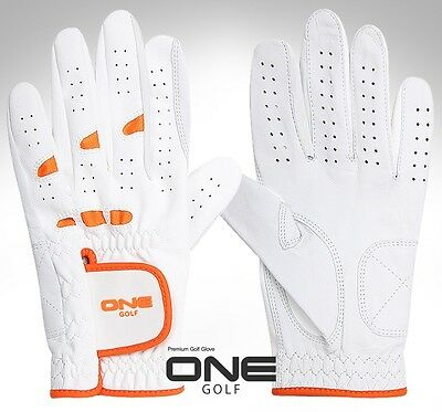 1Pair Women's Fine White Cabretta Soft Golf Glove Gloves Size XS / S / M / ML