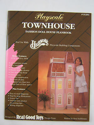 1:6 SCALE MINIATURE BOOK LITTLE TOWN ON THE PRAIRIE PLAYSCALE LITTLE HOUSE
