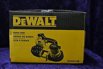 NEW DEWALT DCS370B 18-Volt Cordless Band Saw Bare Tool