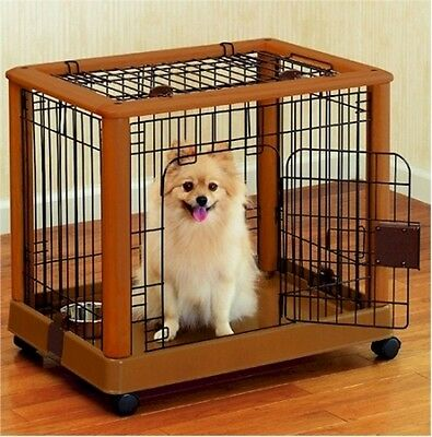 Richell Mobile Pet Pen-Small 94127 Dog Crates NEW