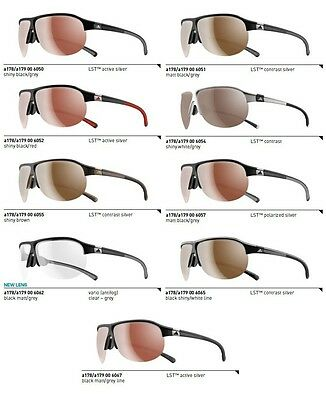 Adidas Brille Tourpro a178 - Large / a179 - Small Golfbrille, Laufbrille