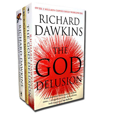The God Delusion Collection Richard Dawkins 3 Books Set The Magic of Reality PB