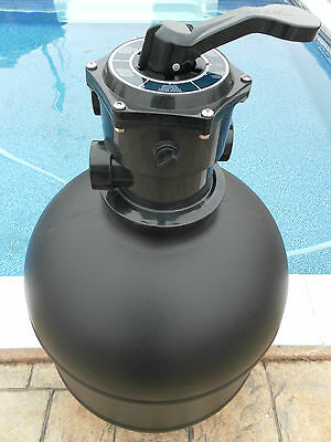 Swimming Pool  Top Mount Sand Filter With Multi Port Valve  And Unions