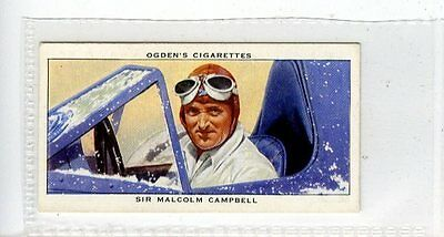(Jc6677-100)  OGDENS,CHAMPIONS OF 1936,SIR MALCOLM CAMPBELL,1937,#35