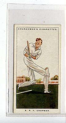 (Jc6739-100)  CHURCHMANS,MEN OF THE MOMENT IN SPORT,A.P.F.CHAPMAN,1928,#17