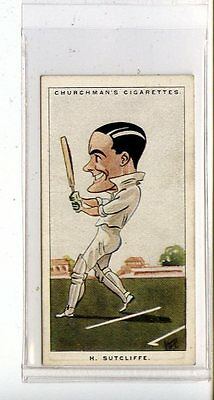 (Jc6751-100)  CHURCHMANS,MEN OF THE MOMENT IN SPORT,H.SUTCLIFFE,1928,#23