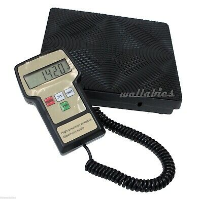 New 220lbs Portable Digital Refrigerant Scale Electronic Charging Weight Scale