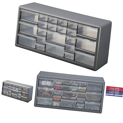 Stack-On DS-22 22 Drawer Storage Cabinet Gray 22 Drawers STACK-ON