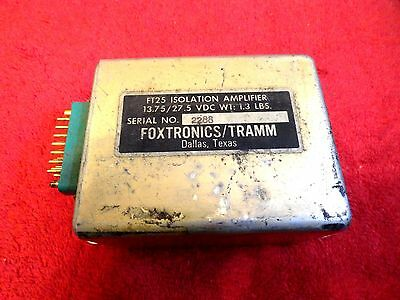 Foxtronics/tramm Ft25 Isolation Amplifier