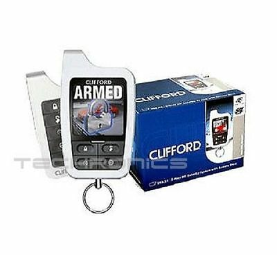 Clifford Matrix 590.2X 2-Way Hd Vehicle Security System With Remote Start