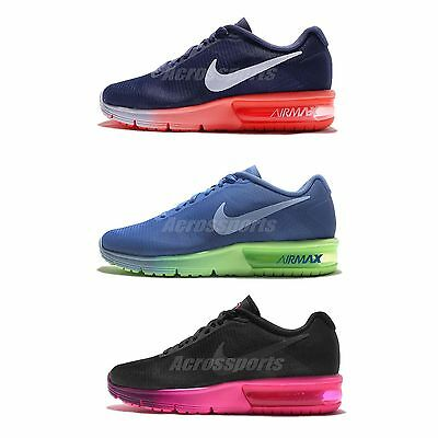 Wmns Nike Air Max Sequent Womens Cushion Running Shoes Sneakers Trainers Pick 1