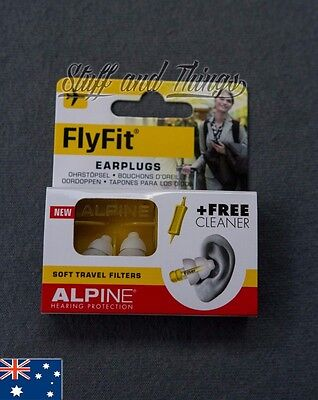 Alpine FlyFit Earplugs - Earplugs for flying pressure and noise!