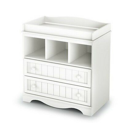 South Shore Savannah Collection Changing Table Pure White