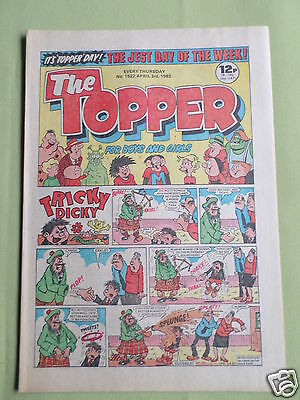 The Topper - Uk Comic - 3 April 1982  - #1522 - Vg