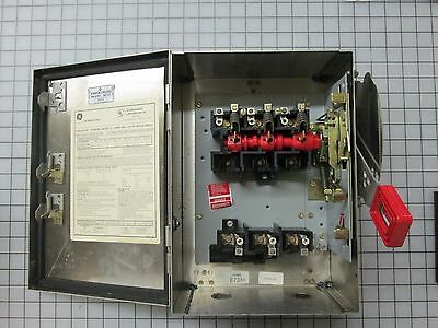 GE TH3361SS316 30A 600V 3P 3Ph N4X Fuseable USED #2
