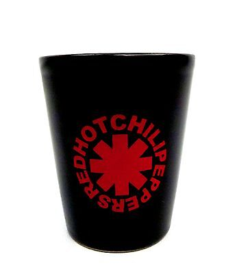 Red Hot Chili Peppers Band Shot Glass