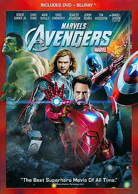 Marvels The Avengers (Two-Disc Blu-ray/D Blu-ray