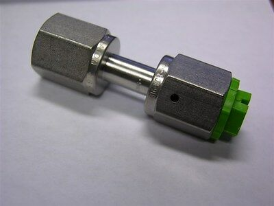 """1 Swagelok Cajon SS-4-WVCR-7-4  Welded VCR Face Seal Fitting 1/4""""WVCR x 1/4""""FNPT"""