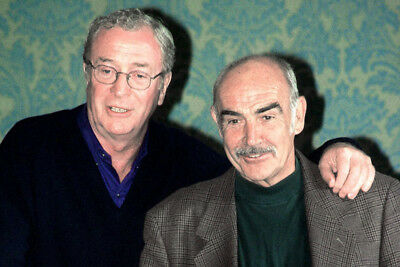 Sean Connery & Michael Caine 24X36 Poster Print