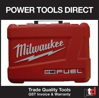 New Milwaukee 18V Generation Ii Fuel Drill/impact Twin Case Bare Case No Tools