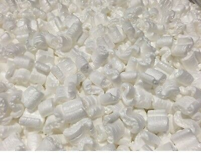 Packing Peanuts Shipping Anti Static Loose Fill 60 Gallons 8 Cubic Feet White