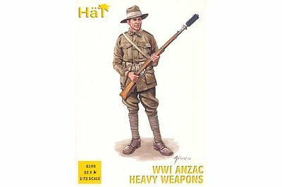 HaT 8190 1/72 ANZAC Heavy Weapons WWI HäT