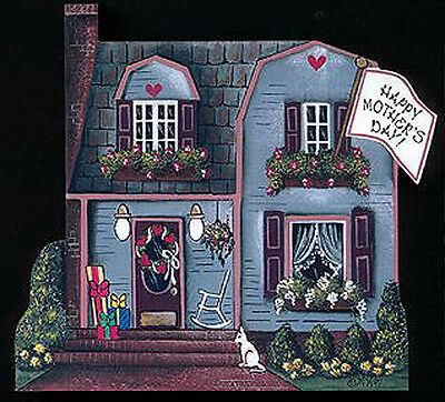 Brandywine Seasons of the Heart: MAY House - Mother's Day - Shelf Sitter