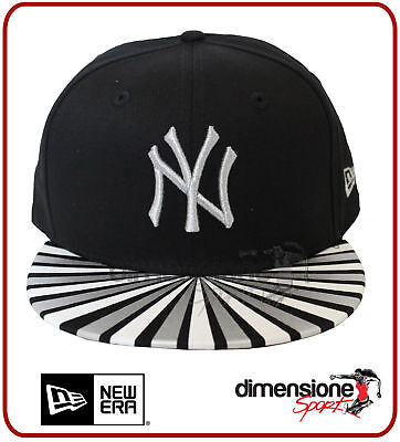 Cappellino New Era Ny New York Yankees Metallic Ray Nero 9Fifty Snapback  Donna e496f2c2e1c1