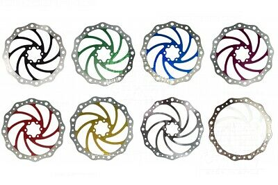 203mm 8in Vibe Disc Brake Rotor 6 Bolt IS Fixing Tough Stainless - 9 Colours