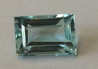 Aquamarine  2.54cts      10mm x 6.5mm