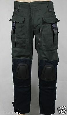 Bane Dark Knight Rises Combat Military Green/Grey Cotton Pants Cosplay Costume