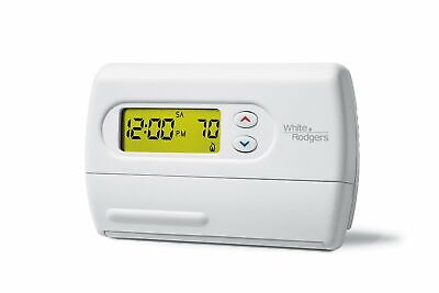 White Rodgers 1F87-361 7-Day Programmable Thermostat, 24 Volt or Millivolt syste