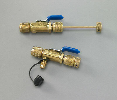 "Yellow Jacket 18971 1/4"" Vacuum/Charge Valve w/out Side Port"