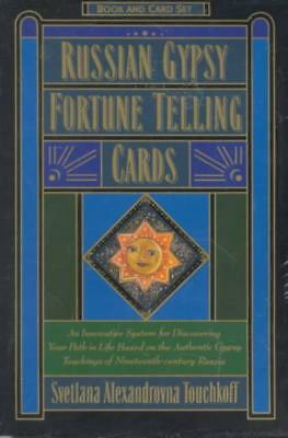 Russian Gypsy Fortune Telling Cards - Touchkoff, Svetlana Alexandrovna - New Har