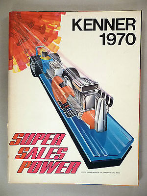 Kenner Toy CATALOG - 1970 ~~ toys