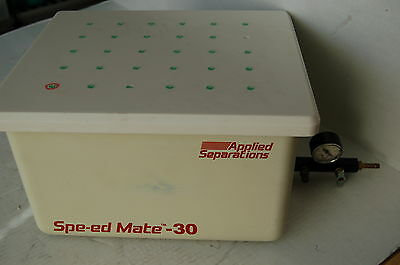 Spe-ed Mate 30  filtration manifold chromatography SPE solid phase extraction